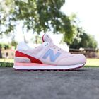 Womens New Balance 574 Sneakers Running Casual Shoes PINK WL574BWB SIZE 55 85