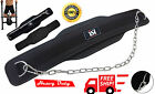 ISH Gym Training Power Weight Lifting Chain Dipping Belt Fitness Strengthen Fit