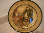 S25 ROYAL DOULTON ART POTTERY SERIES PLATE DR JOHNSON AT THE CHESHIRE CHEESE