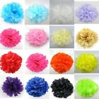 5PC Paper Pom Poms 6 8 10 12 Tissue Baby Shower Party Wedding Hanging Decor