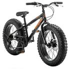 Mongoose Boy Bike BMX Bicycle Kids Cycling 20 Inch Fat Tire Sport Outdoor Travel