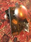 Antique Copper Door Hardware Mortise Lock Set With Copper Knobs