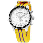 TISSOT QUICKSTER LAKERS NBA SPECIAL EDIT. SILVER DIAL MEN'S WATCH T0954171703705