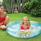 48X10 Inflatable STARS Kiddie 2 Ring Circles Swimming Pool By Intex Baby POOL
