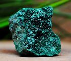 48 Gram Fibrous Forest Green Malachite Crystals From Katanga, Congo Rny56