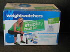 Weight Watchers Stability Ball Kit w Stability Ball  4 Workouts DVDs New