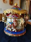 Rare Fitz and Floyd Musical Carousel Cookie Jar serial #2