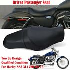 Driver Passenger Tour Seat for Harley Sportster XL883N XL1200N Iron 48 72 XR1200