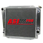 4ROW PRO ALUMINUM RADIATOR FOR 66 77 FORD BRONCO WAGON ROADSTER 50L 302 V8