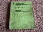 Mitsubishi 6D2 6 D 2 Diesel Egine Factory Original Service Shop Repair Manual