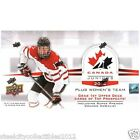 2014 15 Upper Deck Team Canada Juniors Hockey Hobby Box Factory Sealed