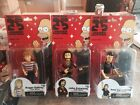 SIMPSONS NECA 25 GREATEST GUEST STARS SERIES 2 THE WHO COMPLETE SET OF 3