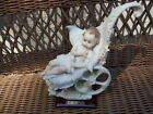 Giuseppe Armani Baby & Stroller Porcelain Figurine 1986 Excellent Condition