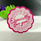 Red flower Especially for you Sticker 144pcs 3535mm Vintage Stickers Hand Made