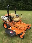 61 Scag Turf Tiger ZTR Mower with Kubota 3 cylinder gas engine