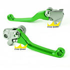 For Kawasaki KX250F 2005-2012 KX450F 2006-2012 Pivot Brake Clutch Levers 2011