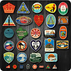 Lot of 32 Retro Vintage Travel Hotel Airline Skateboard Luggage VINYL Sticker