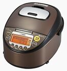 ☀Tiger☀ JKT-V101-XT IH rice cooker 5.5 Cup - Brown stainless Ship EMS!