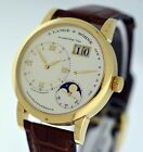A. Lange & Sohne Lange 1 Moonphase Power Reserve 18k Yellow Gold 38mm watch