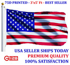 New 3x5 Polyester US Flag USA America Stars Stripes United States Brass Grommets