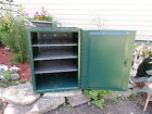 VTG. STERNO CANNED HEAT STORAGE CABINET/ CAMPING / METAL CHEST/TOOLS/NEAT