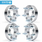 4 Wheel Spacers Adapters 5X45 to 5X475  125  Stud Size 1 2x20