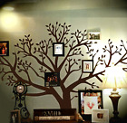 Chestnut Brown Large 8 Foot x 9 Foot Huge Family Tree Wall Decal Home Decor