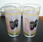 1998 124th Kentucky Derby Mint Julep Glasses Lot of 2
