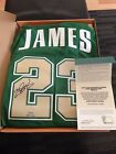 Lebron James UDA Upper Deck High School St. Mary Signed Autographed Jersey 100
