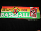 1991 Topps Bowman Baseball Complete Set Box Pack Case ALL 704 Cards NEW SEALED