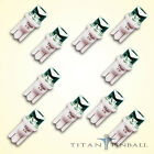 10 Pack 63 Volt LED Bulb Concave 555 Wedge Base T10 Pinball WARM WHITE