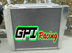3 row ALUMINUM RACING RADIATOR FOR 66 77 FORD BRONCO WAGON ROADSTER 50L 302 V8