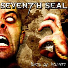 Seventh Seal - Days of Insanity RARE Brazilian Power Metal OOP Sealed!