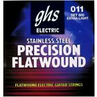 GHS 800 Precision Flats Flatwound Extra Light Electric Guitar Strings 11 46