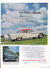 1958 Oldsmobile car ad 98 Holiday Coupe b
