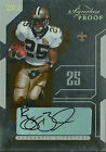 2006 Playoff Signature Proof GOLD Reggie Bush RC Auto 50 #71