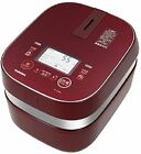 ☀Toshiba☀ RC-10ZPH-R Vacuum IH rice cookers 5.5 cup - Color Red - Ship EMS