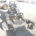 White Zero Turn Mower Fr 180 18 hp V twin motor 325 hours Needs Work