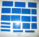 LEGO Large Blue Plates 6x10 Pirates 6x12 6x6 2x10 6x8 6242 70413 10210 6243 6278