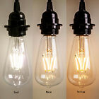 New Vintage Retro Edison E27 2W 8W Screw LED Filament Light Bulb ST64 Globe Lamp