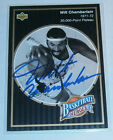 Wilt Chamberlain Auto on Card Upper Deck 1992-93 Signed Autograph