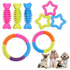 Rubber Pet Dog Puppy Cat Dental Teething Gums Clean Chew Resistant Bite Play Toy