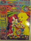 Lisa Frank Puzzle - Rainbow Matinee - 48 pieces - Puppy - Kitty