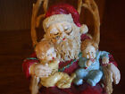 CHRISTMAS AROUND THE WORLD HOUSE OF LLOYD MUSICAL SANTA IN ROCKING CHAIR 1992