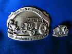 Tail End Charlie The Tractor Belt Buckle  Hat Pin