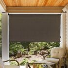 Roller Porch Shade Patio Window Outdoor Sun Solar Sunroom Deck Blind Exterior
