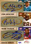 2011 Cam Newton SIGNED ROOKIE RC Auto # 4 15 Ingram and Ridley Autographed