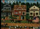 Charles Wysocki Americana Series 1000 Piece Puzzle - July 4th Parade by Milton