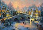 Schmidt Puzzle 1000 pieces - Spirit of Christmas, Thomas Kinkade code 58450