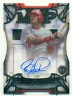 2016 Topps Tribute Barry Larkin Ageless Accolades Acetate Autograph 26 50 (AT)